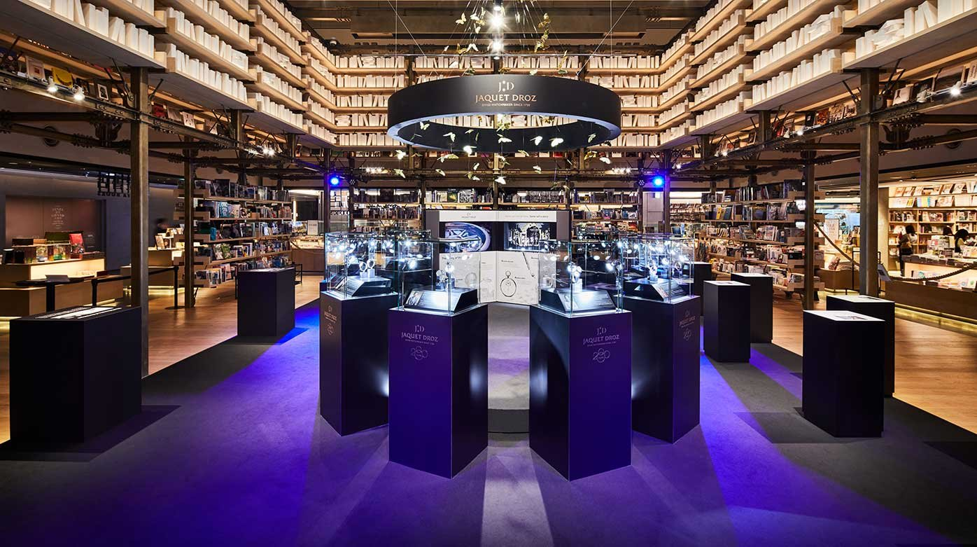 "Jaquet Droz - The ""Story of the Unique"" exhibition stops in Ginza"