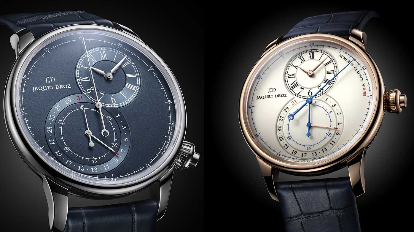 Jaquet Droz - A Chrono at the heart of the Grande Seconde