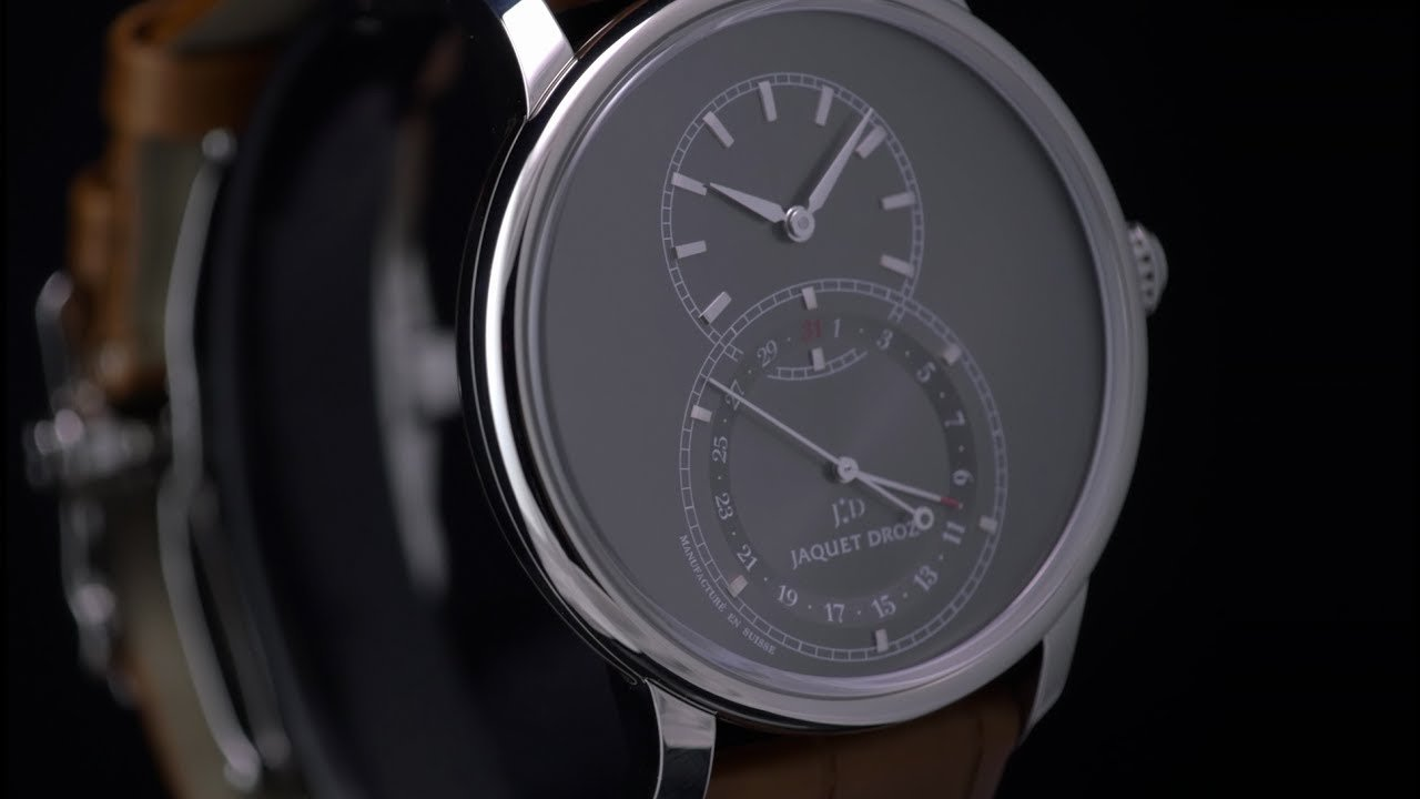 Jaquet Droz - Grande Seconde Quantième Satin Brushed Anthracite