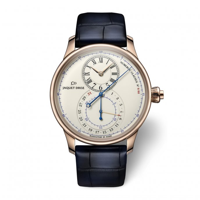 Grande Seconde Chronograph Email Ivoire