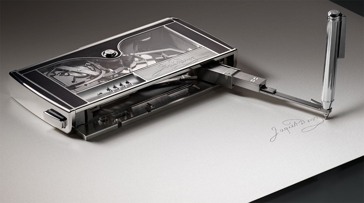 Jaquet Droz - The Signing Machine