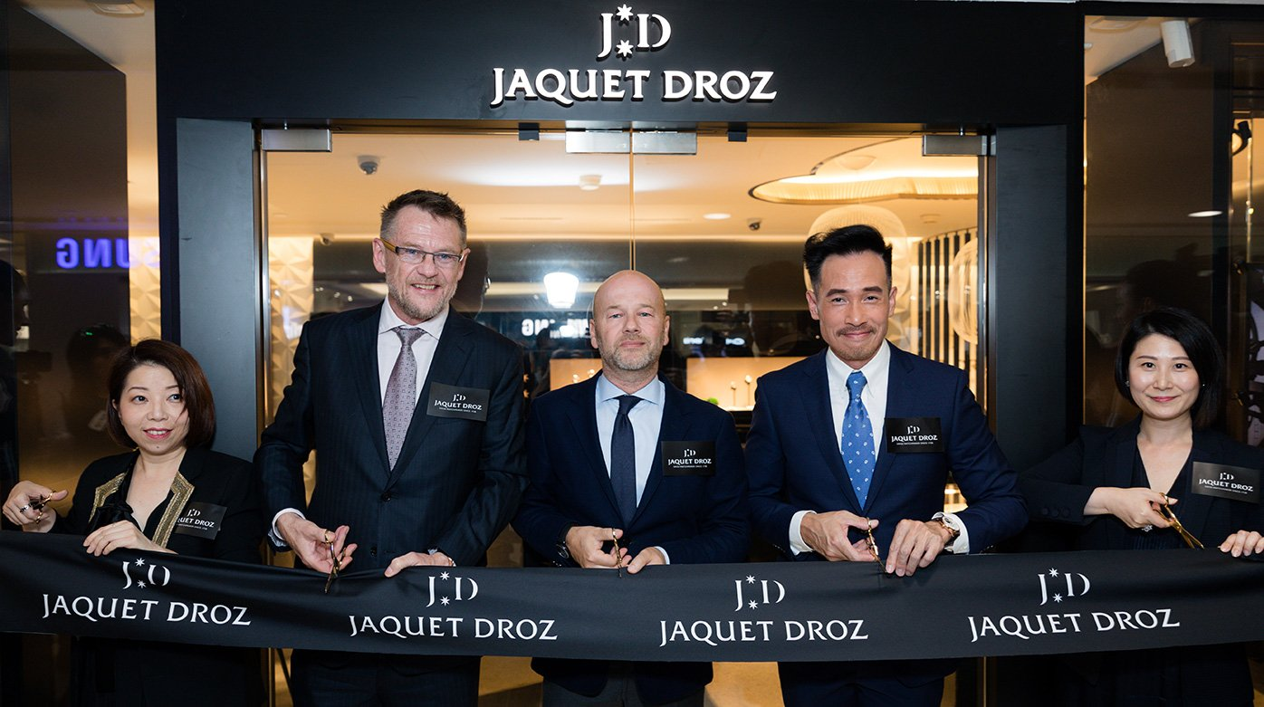Jaquet Droz - Opening of a new boutique in Honk Kong
