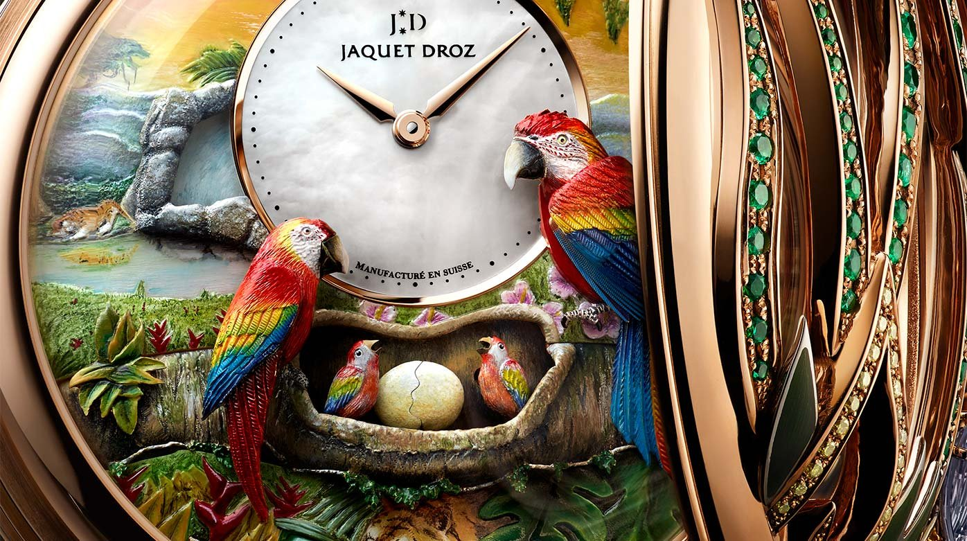 Jaquet Droz - Parrot Repeater Pocket Watch