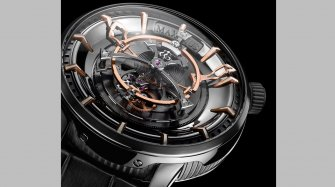 The world's largest Tourbillon displays ultra-precision