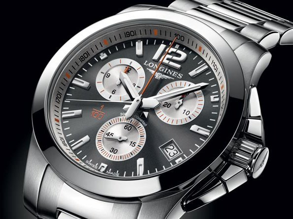 Longines  - A gagner sur WorldTempus, la montre Conquest 1/100th Roland Garros