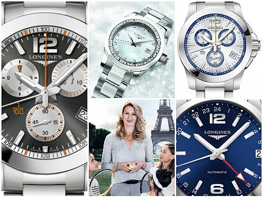 Longines - The conquest of sporting elegance