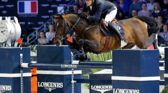 Gregory Wathelet, champion of the Longines Masters of Paris Sport