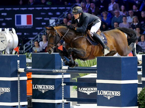Longines - Gregory Wathelet, champion of the Longines Masters of Paris