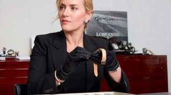 Video. Longines welcomes Kate Winslet in Saint-Imier