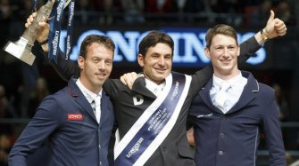 Longines FEI World Cup™ Jumping final in Gothenburg Sport