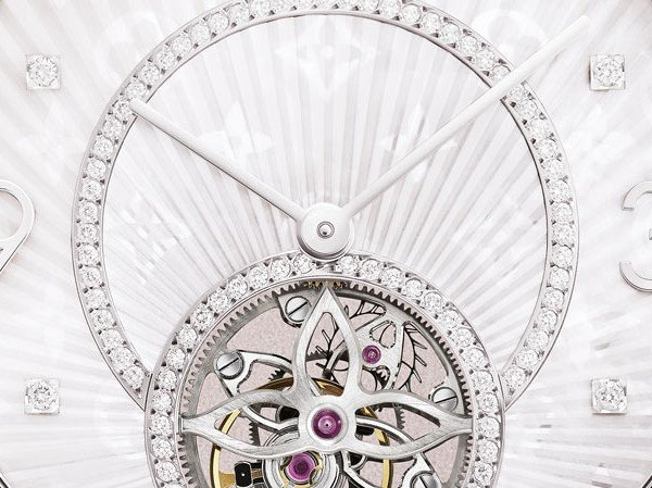 Louis Vuitton - Tambour Monogram Tourbillon, white gold