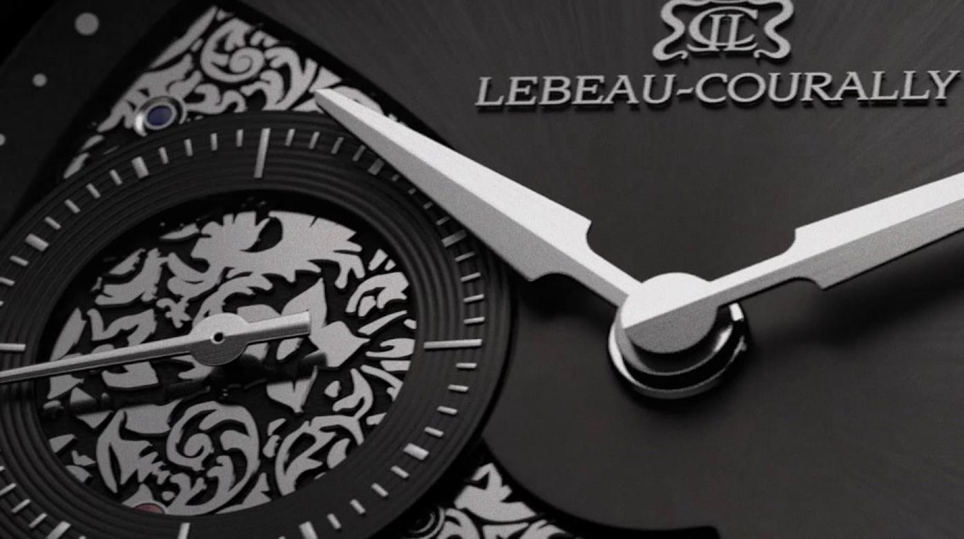 Lebeau-Courally - Micro-Rotor: heritage in motion