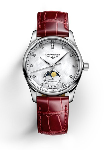 The Longines Master Collection: the Moon on her wrist
