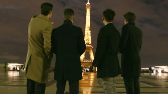 Longines' Festive Season in Paris People and interviews