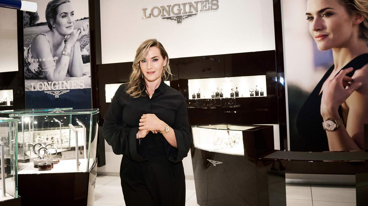 "Longines - ""Flagship Heritage by Kate Winslet"" timepieces auctioned in New York"