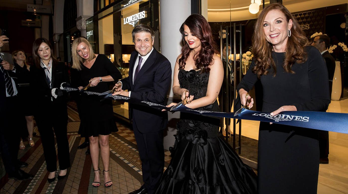 Longines - Queen's Baton for boutique opening in Sydney