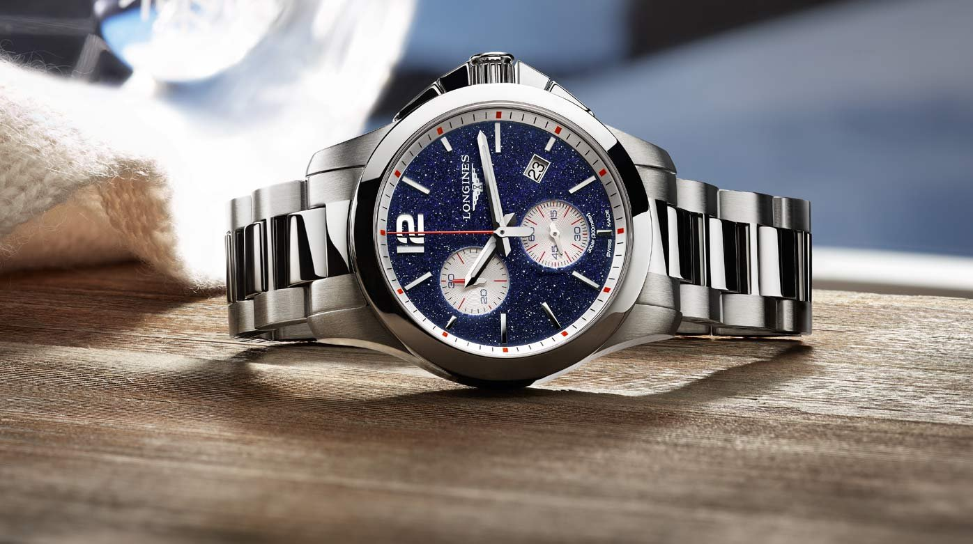 Longines - Conquest Chronograph by Mikaela Shiffrin
