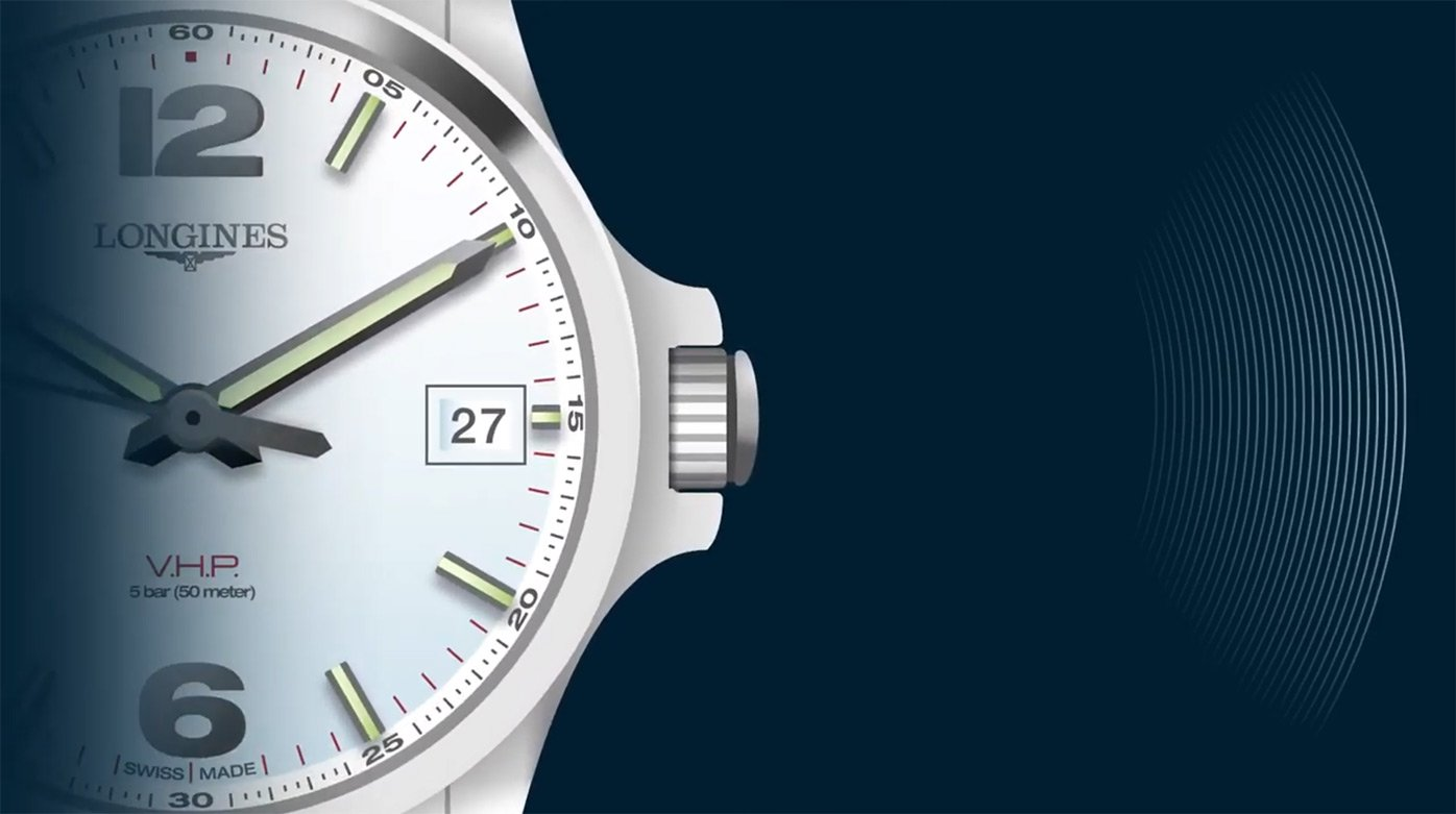 Longines - Conquest V.H.P.: Time Settings