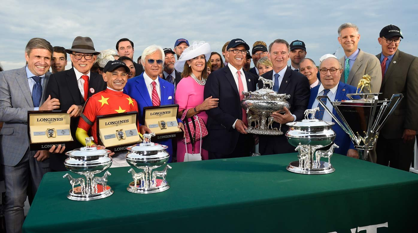 Longines - Justify's Triple Crown Victory At Belmont Stakes
