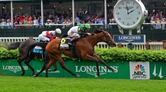 Pouring rain didn't stop Longines Sport