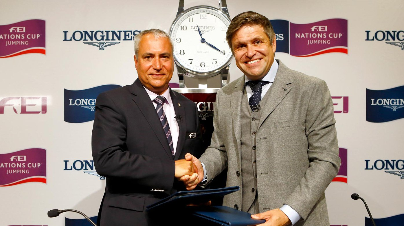 Longines - Long-term title partner of FEI Nations Cup