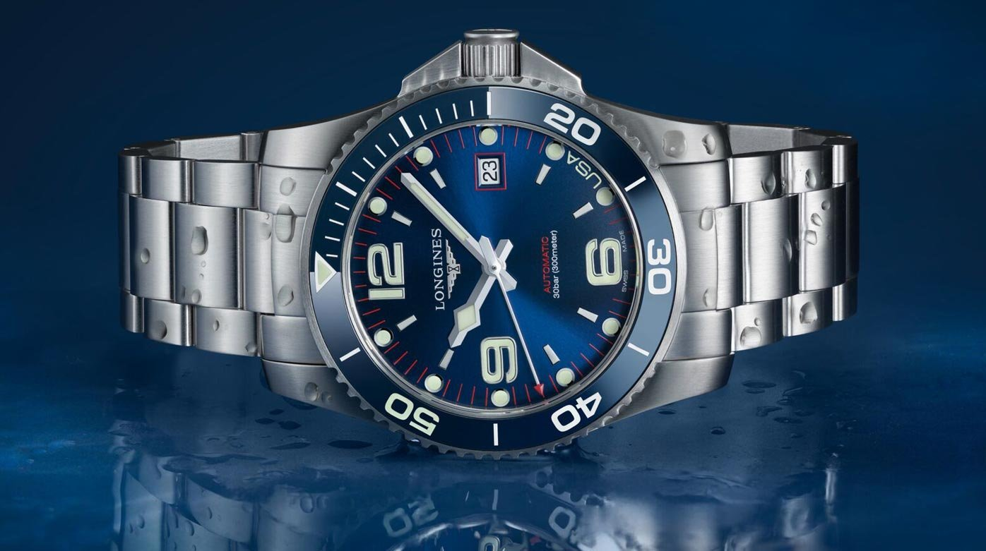 Longines - Exclusive HydroConquest collection for the US - Watches ... b4ccb48852