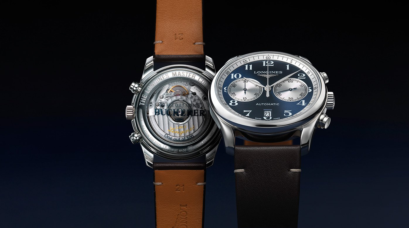 Longines/Bucherer - The Longines Master Collection Chronograph Bucherer Blue Editions
