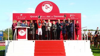 Waldgeist wins the 98th edition of the Qatar Prix de l'Arc de Triomphe Sport