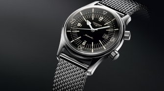 The Longines Legend Diver Watch Trends and style