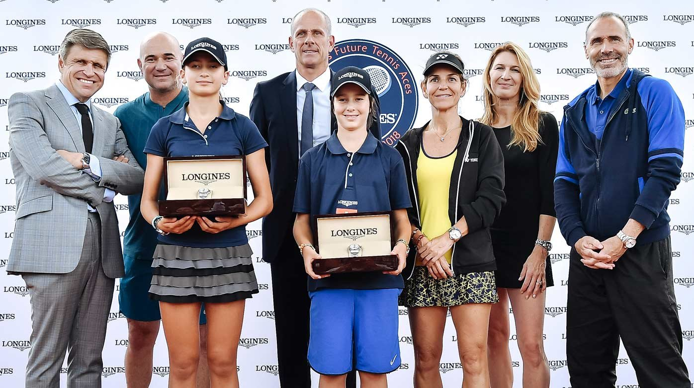 Longines - The champions of the 2018 Longines Future Tennis Aces