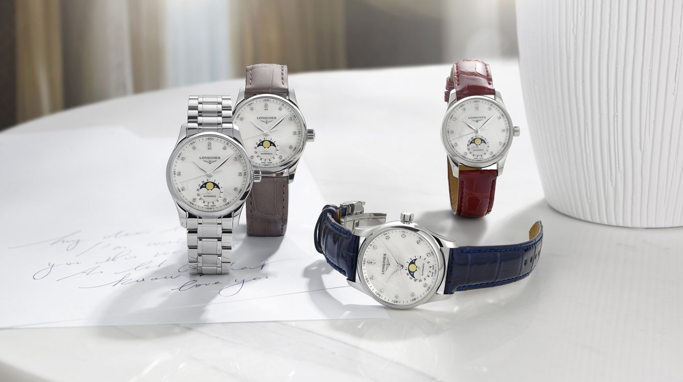 Longines  - The Longines Master Collection: the Moon on her wrist