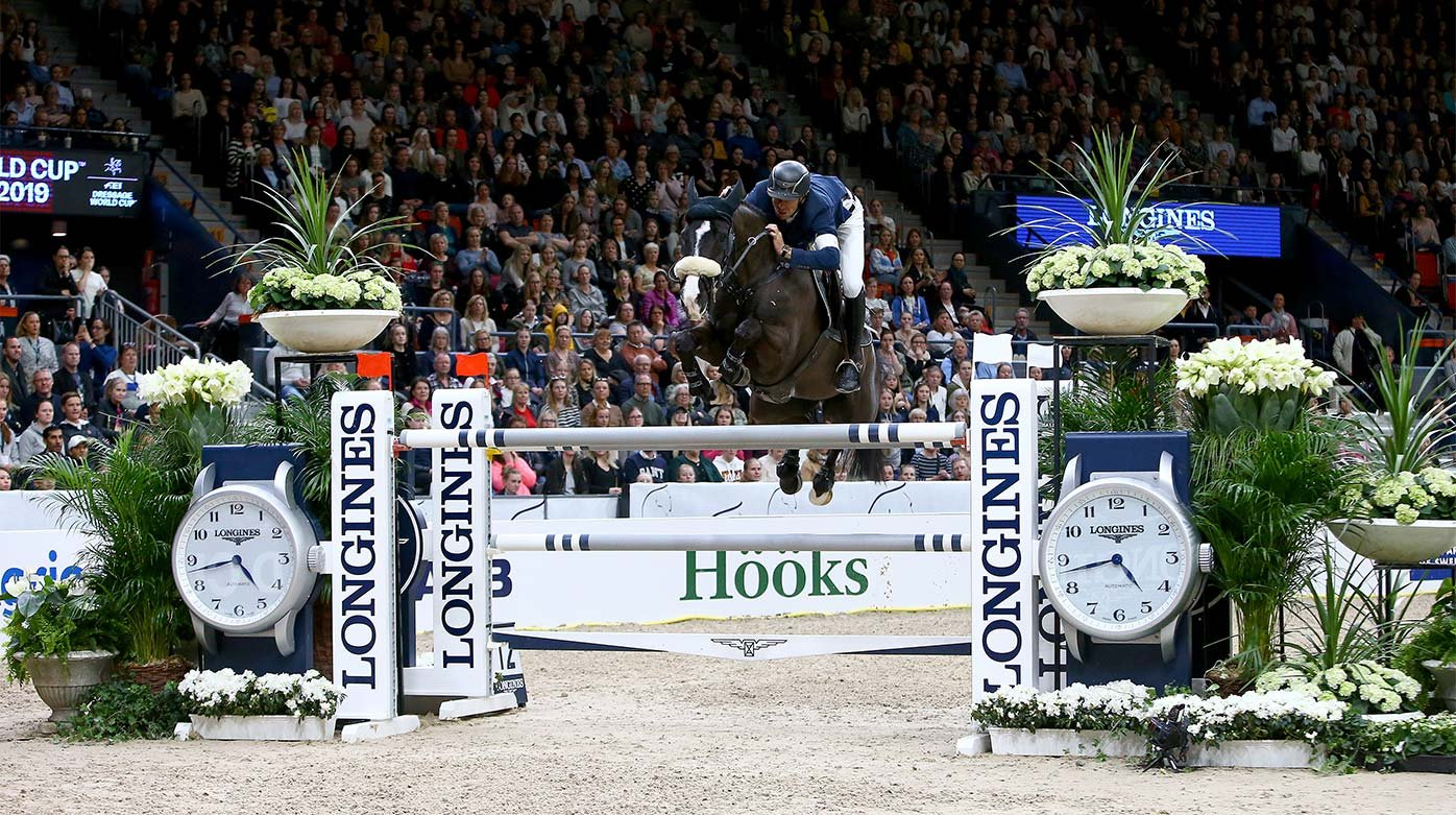 Longines - Steve Guerdat wins in Gothenburg
