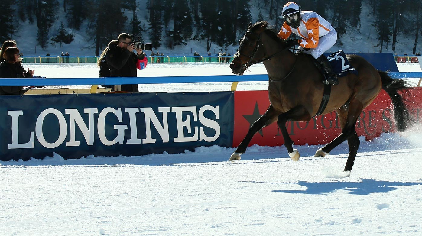 Longines - A long-lasting love story with the White Turf