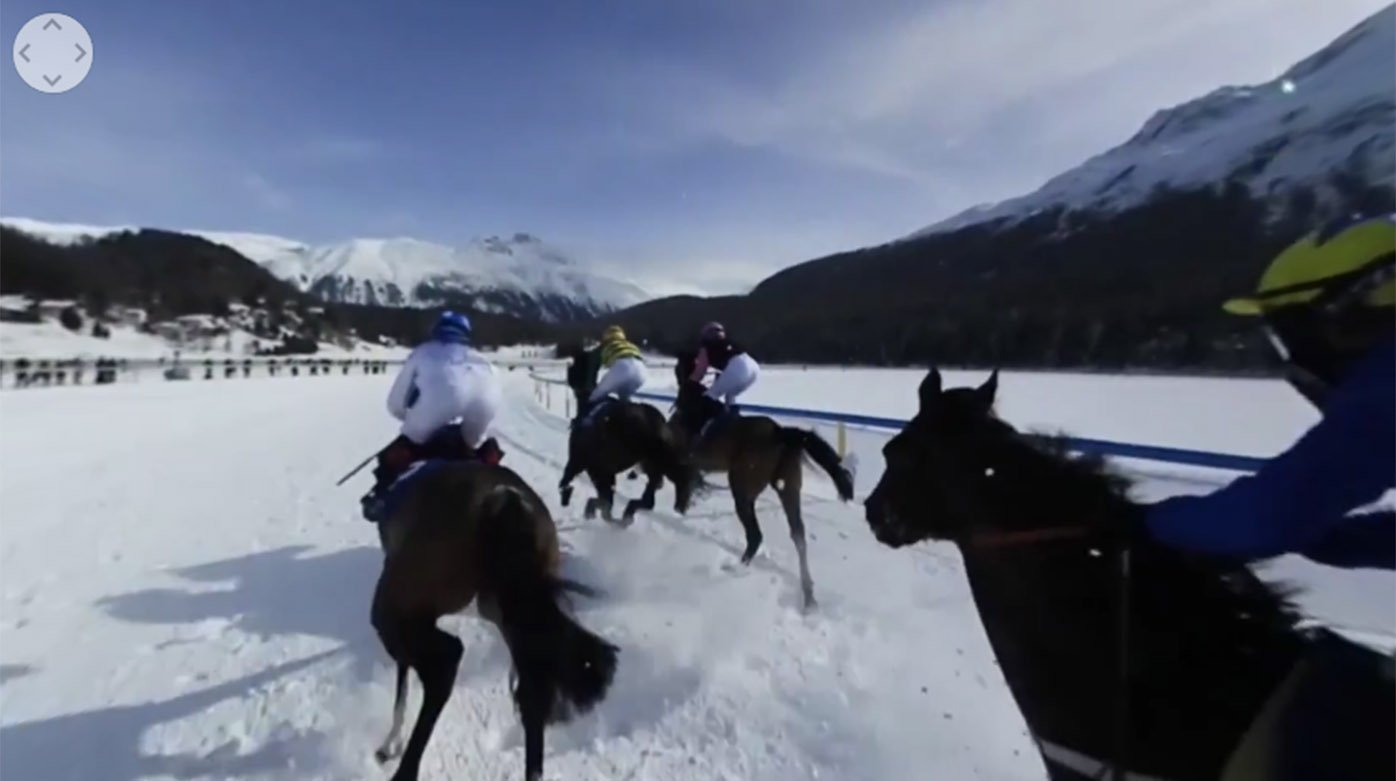 Longines - At the heart of the White Turf in St. Moritz