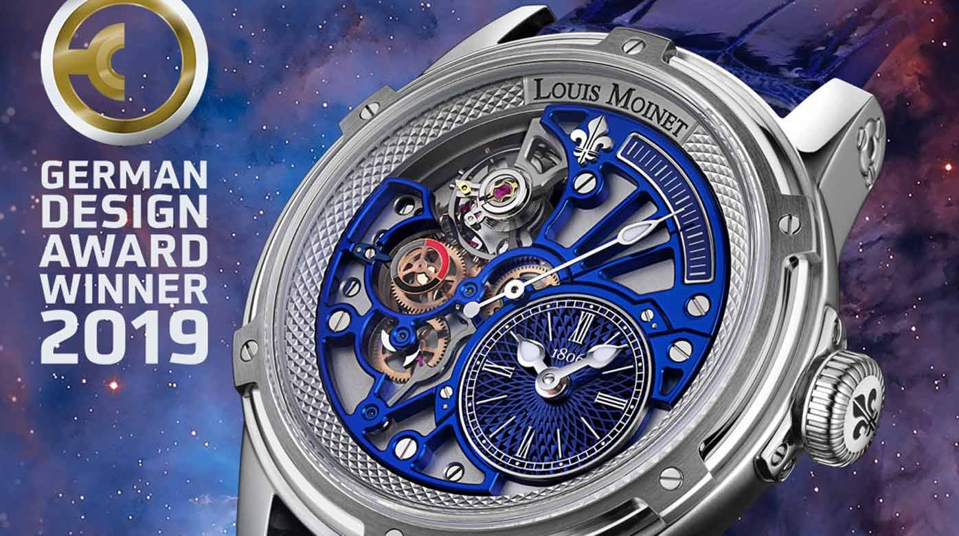 Louis Moinet - Two more Design Awards
