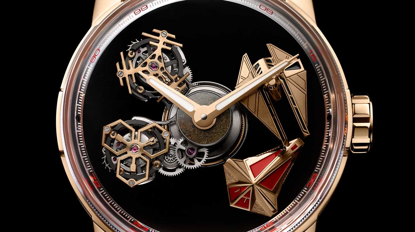 Louis Moinet  - Time from outer space