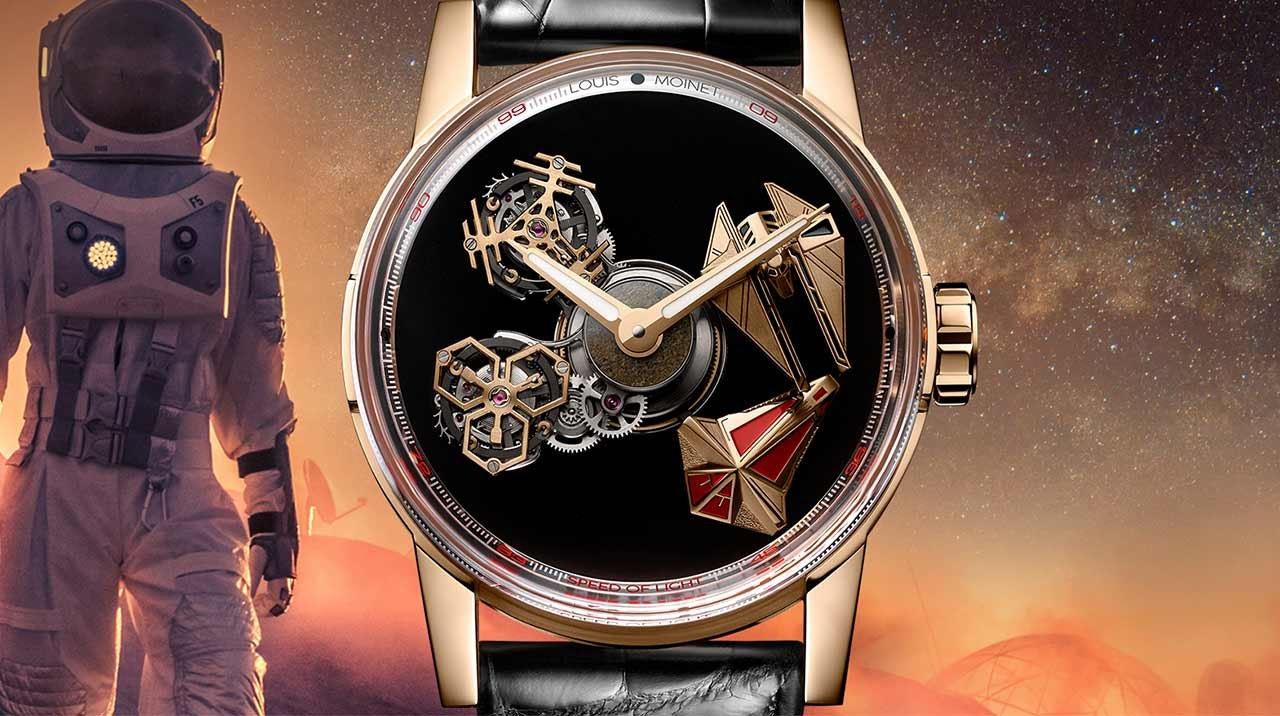 Louis Moinet - Space Revolution