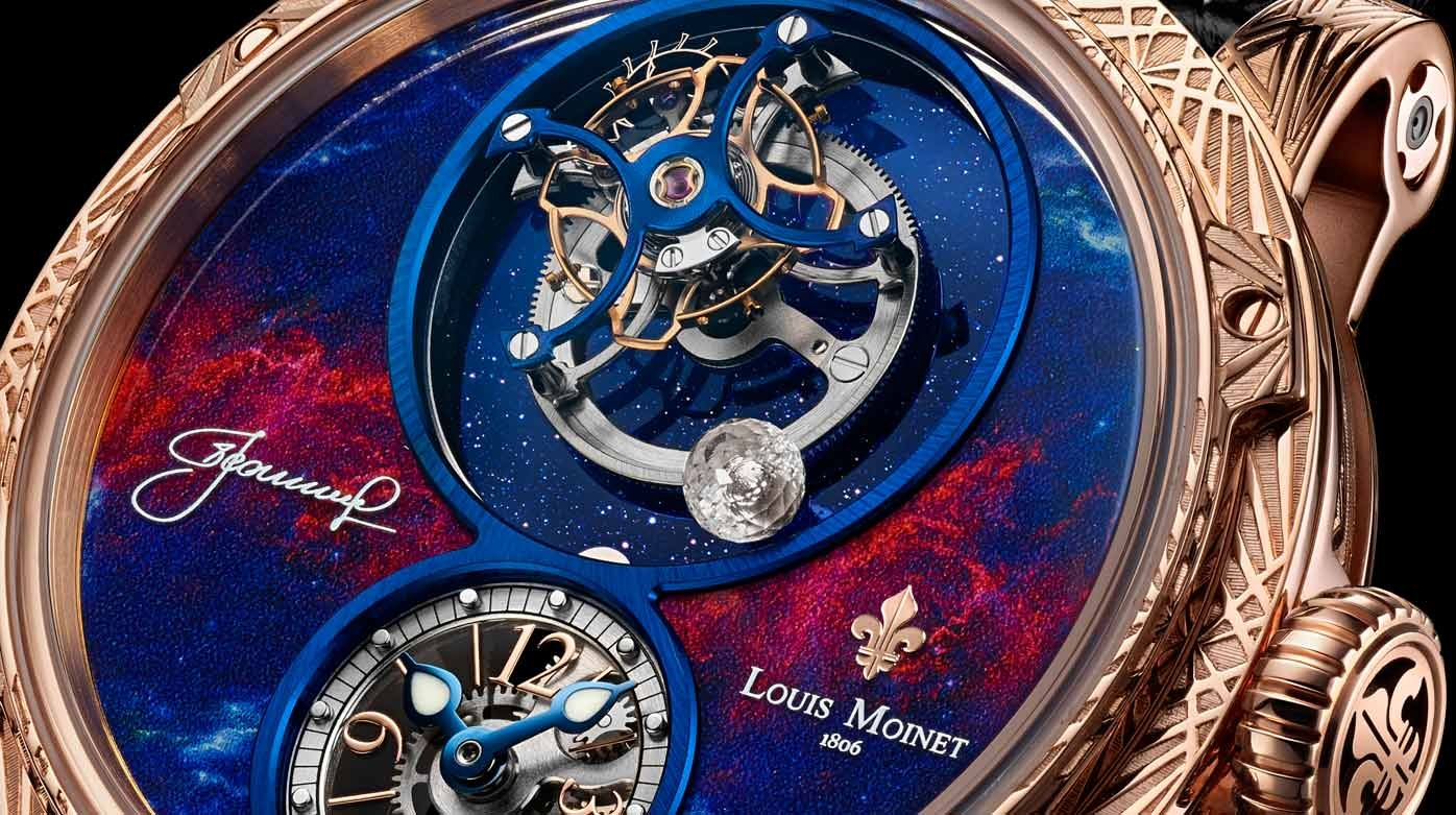Louis Moinet - SpaceWalker