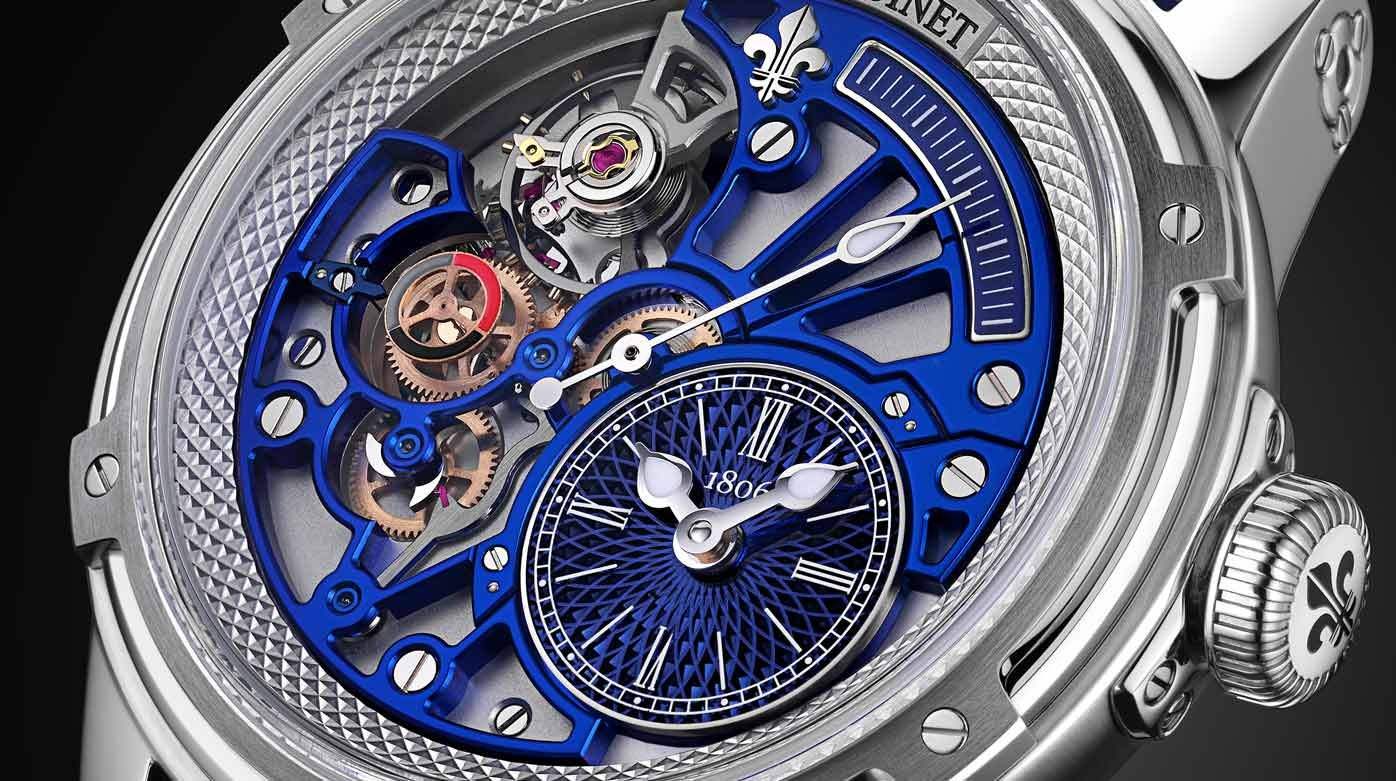 Louis Moinet - Tempograph Chrome
