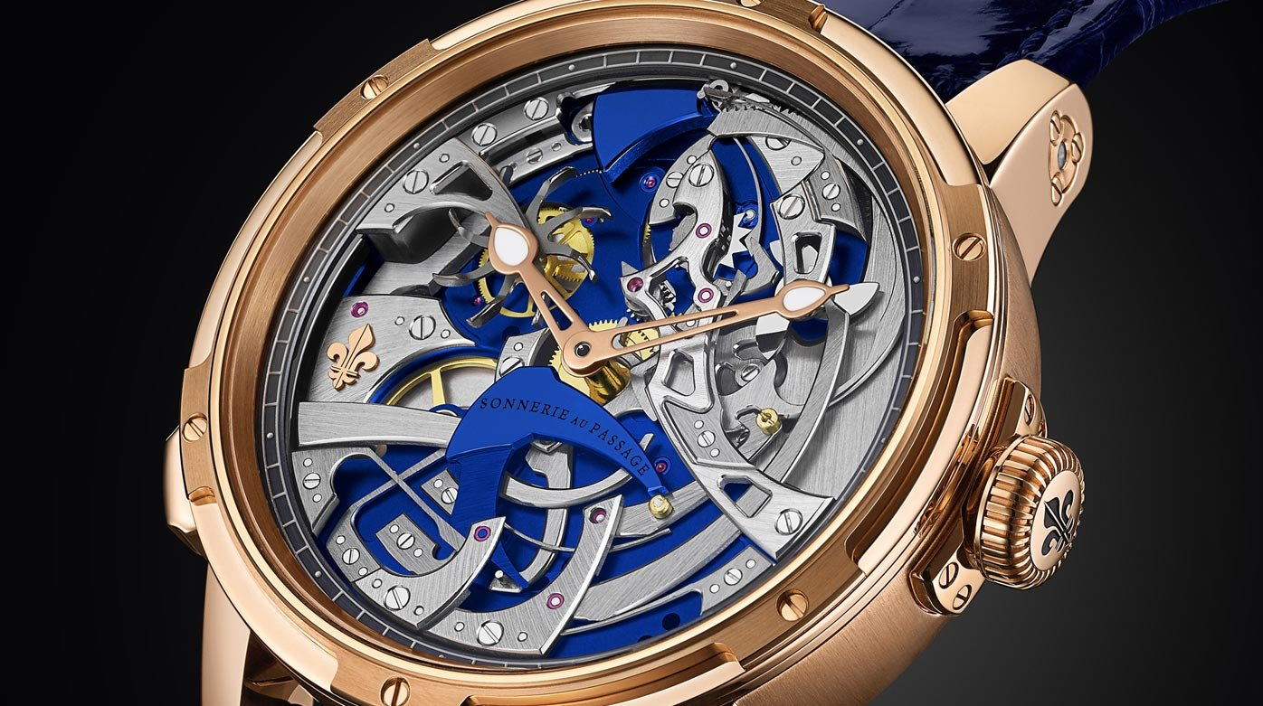 Louis Moinet - Ultravox – the first-ever Hour Strike by Louis Moinet