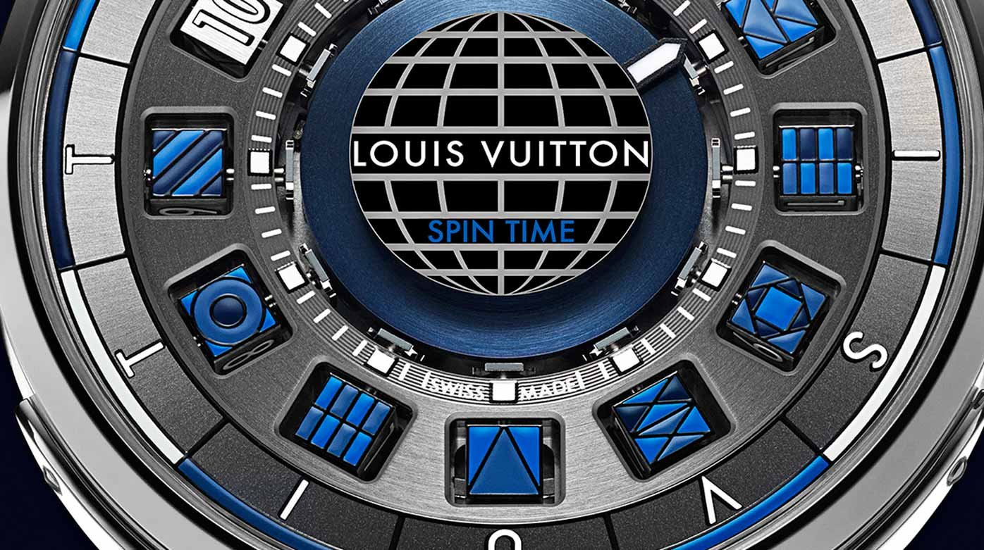 Louis Vuitton - Escale Spin Time Bleue
