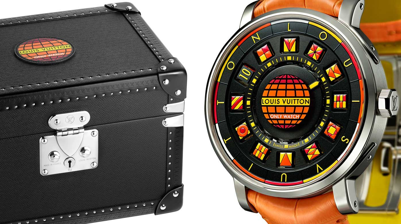 Louis Vuitton - Escale Spin Time Black & Fire pour Only Watch