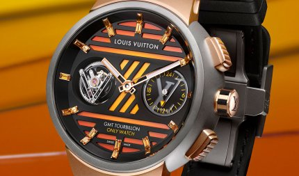 Tambour Curve GMT Flying Tourbillon, Only Watch 2021