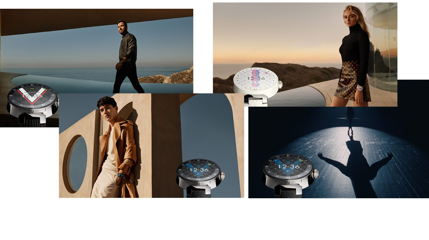 Louis Vuitton - New Tambour Horizon advertising campaign