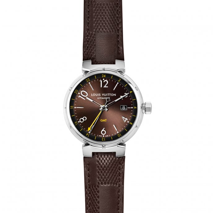 Tambour Essential Brun GMT