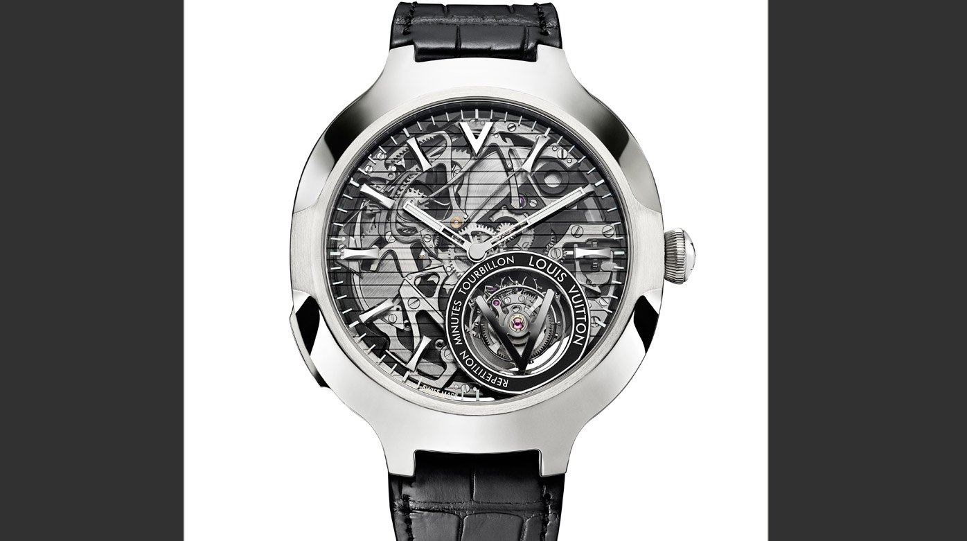 Louis Vuitton - Voyager Minute Repeater Flying Tourbillon