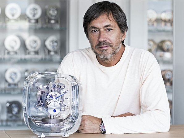 Jaeger-LeCoultre - Atmos 568 by Marc Newson