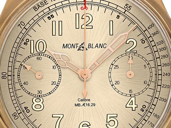 Montblanc - Montblanc 1858 Chronograph Tachymeter Limited Edition