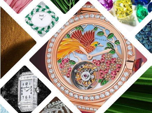 High jewellery watches  - Naturally inspired jewellery creations