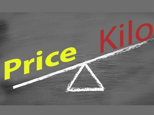 Watch prices - By the kilo